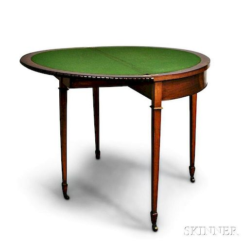 Georgian-style Card Table