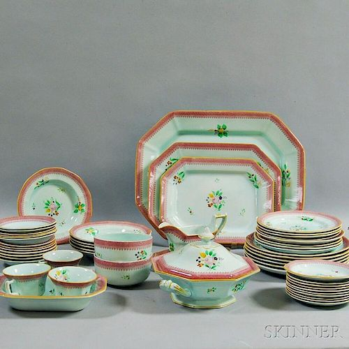 "Fifty-four Pieces of Adams ""Calyx Ware,"""