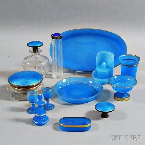 Fourteen Glass Vanity Items