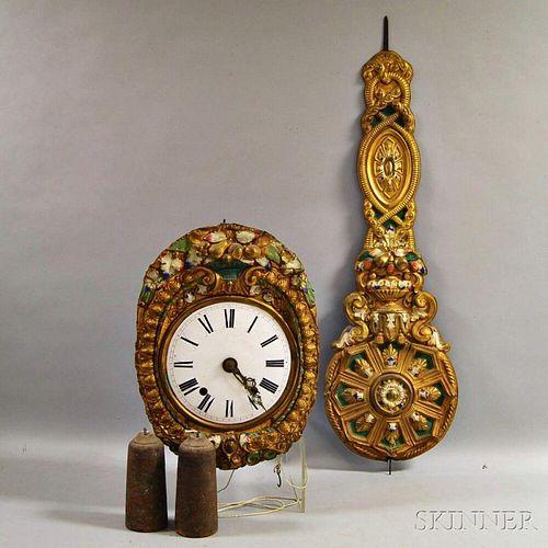 Morbier Wall Clock