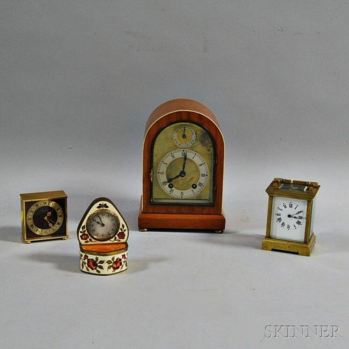 Four Table Clocks