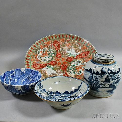 Four Pieces of Asian Porcelain