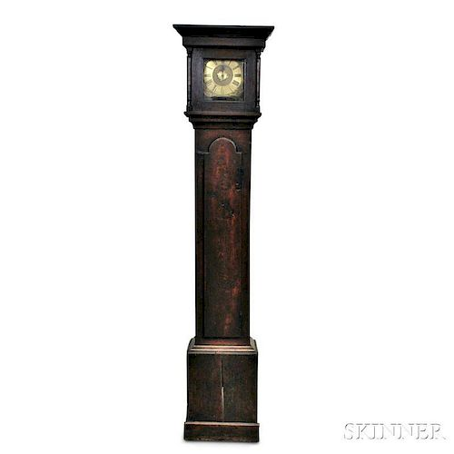 Steven North Thirty-hour Oak Tall Case Clock