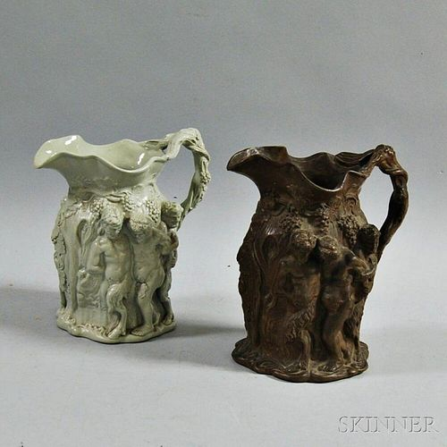 Two English Minton Pitchers