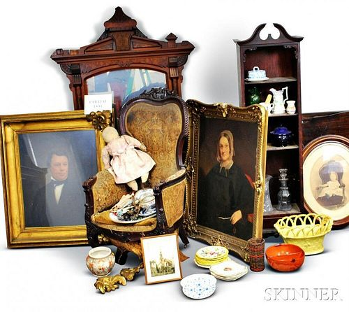 Extensive Group of Decorative Items