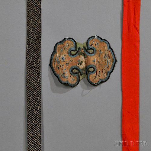 Three Textile Fragments