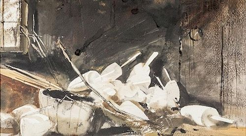 Andrew Newell Wyeth (1917-2009) Pot Buoys
