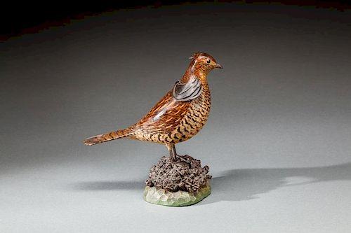 Ruffed Grouse by A. Elmer Crowell (1862-1952)
