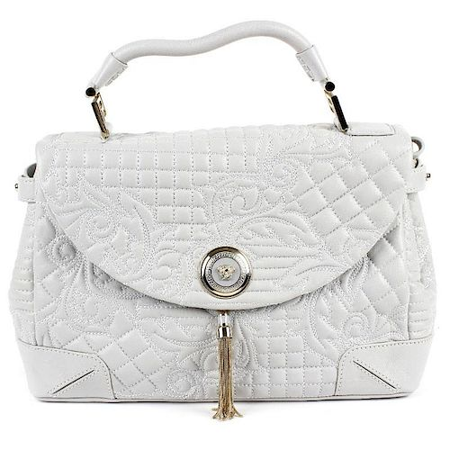 755ad0249aca GIANNI VERSACE - an Altea Quilted Barocco Vanitas bag. Designed with ...
