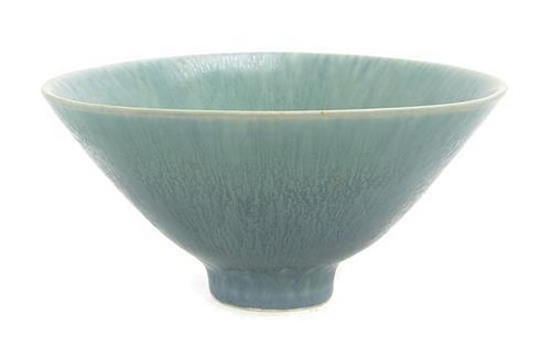 * A Gunnar Nylund Pottery Bowl, for Rorstrand, Diameter 7 1/2 inches.