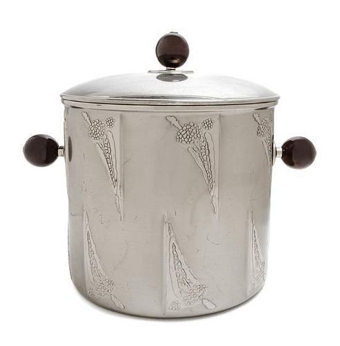 An WMF Silver-Plate Ice Bucket, Height 11 3/4 inches.