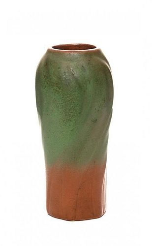 A Van Briggle Pottery Vase, Height 7 1/4 inches.