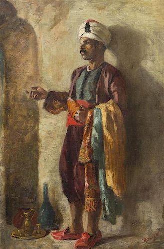 Artist Unknown, (Continental, 19th century), Portrait of an Arab
