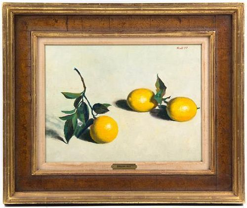 Gregory Hull, (American, b. 1950), Lemons, 1977