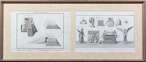 Artist Unknown, (19th century), Autels des Holocaustes (two works)