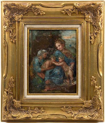 Artist Unknown, (Italian, 18th century), Christ with St. John the Baptist