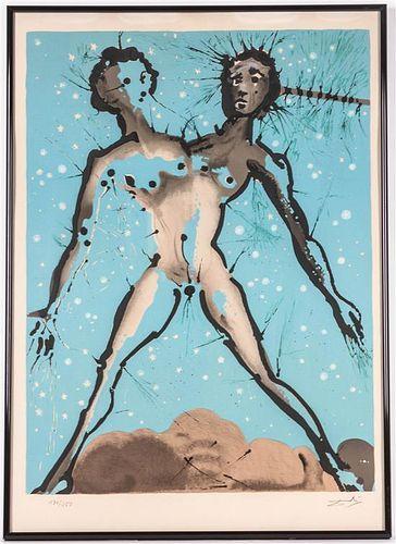 * Salvador Dali, (Spanish, 1904-1989), Gemini