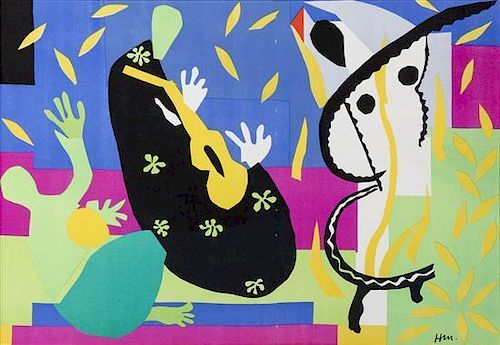 * After Henri Matisse, (French, 1869-1954), The Sadness of the King, 1958