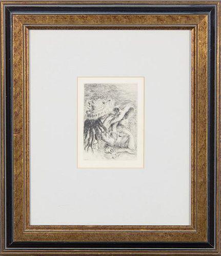 * Pierre Auguste Renoir, (French, 1841-1919), Le Chapeau Epingle (The Hat Pins)