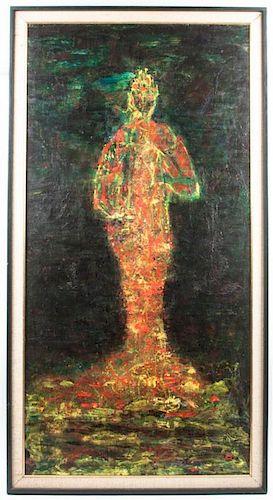 * Artist Unknown, (20th century), Figure