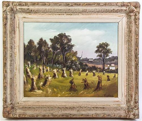 Marko Vukovic, (Czech, 1892-1973), Haystacks in Summer