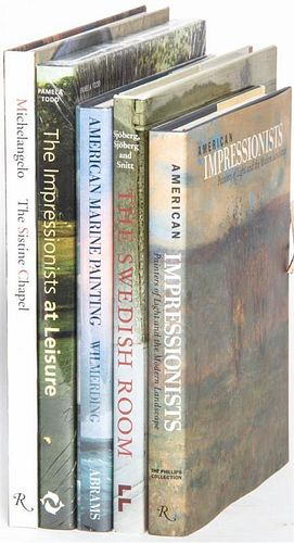 * A Group of Books Pertaining to History,