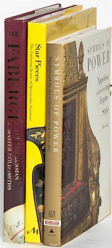 * A Group of Books Pertaining to Decorative Arts,