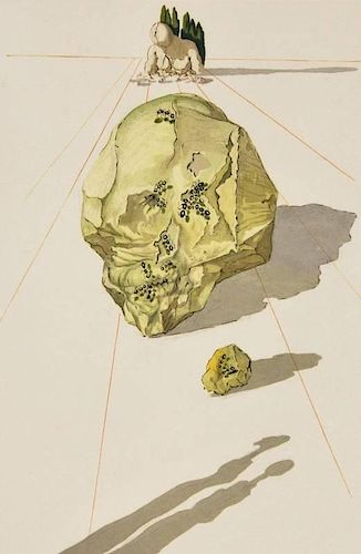 Salvador Dali 'Divine Comedy' Lithograph, Signed Edition