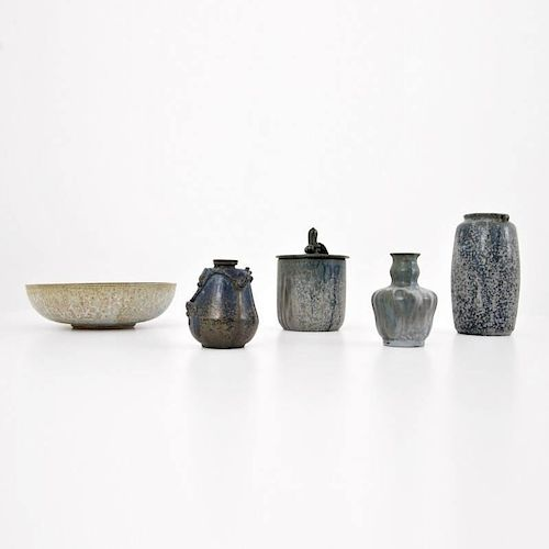 Arne Bang Vessels, Collection of 5