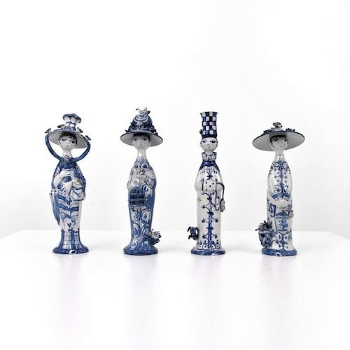 Bjørn Wiinblad 'The Four Seasons' Figurines