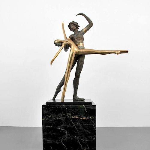 Large Prince Monyo Simon Mihailescu-Nasturel Sculpture