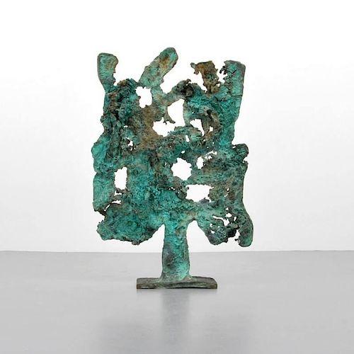 Monumental Harry Bertoia 'Spill Cast' Sculpture