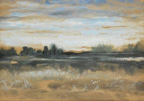 Martin Jackson 'The Meadows' Painting, Original Work