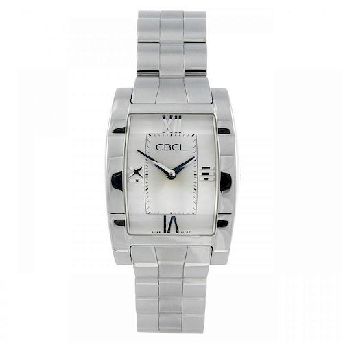 EBEL - a lady's Tarawa bracelet watch. Stainless steel case. Reference E9656J21, serial 37501045. Si