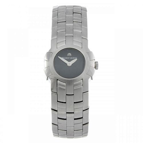 MAURICE LACROIX - a lady's Intuition bracelet watch. Stainless steel case. Reference 59858, serial A