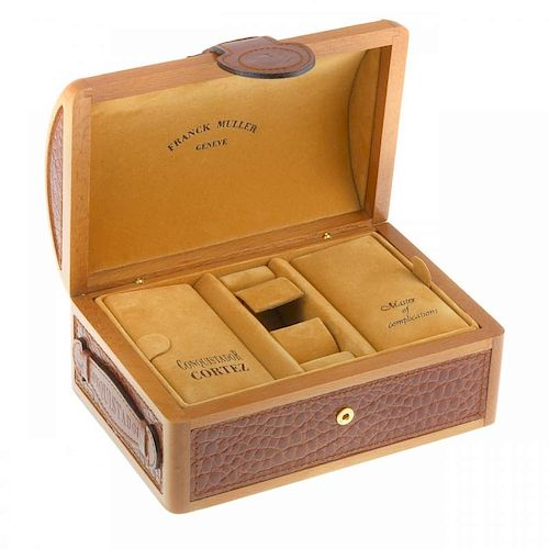 FRANCK MULLER - a complete watch box.