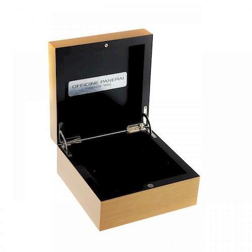 PANERAI - a complete watch box.