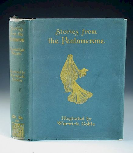 BASILE (Giambattista) Stories from the Pentamerone, illustrated with 32 tipped-in colour plates by W