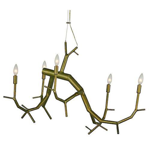 CHRISTOPHER POEHLMANN newGROWTH chandelier