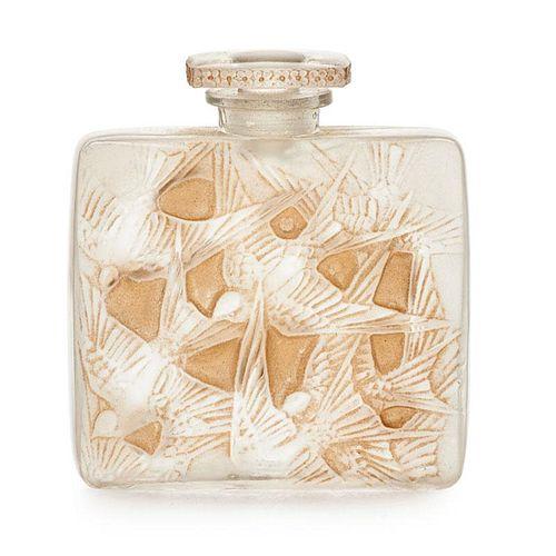 """LALIQUE """"Hirondelles"""" perfume bottle"""
