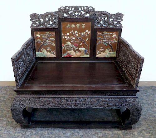 Zitan Throne Chair