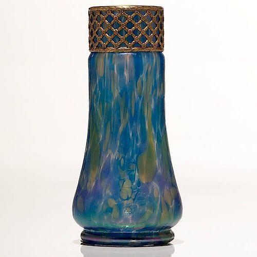 Loetz Cobalt Papillon Vase