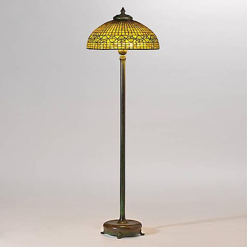 Tiffany Studios Acorn Floor Lamp