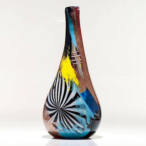 Dino Martens Oriente Vase, Model 2122