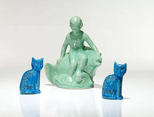 Flavia Pottery Cats, Plus