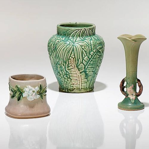 Roseville and Weller, Group of Ohio Pottery