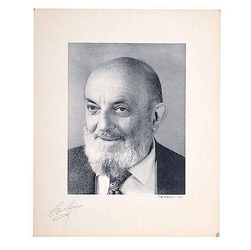 Ansel Adams Polaroid Portrait