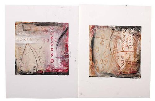 Abstract Monoprints by Eric Corrigan