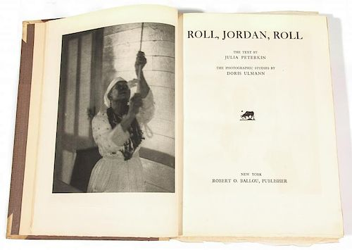 Rare 1st Edition: Roll, Jordan, Roll, Signed/No. 230