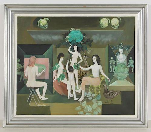 Froylan Ojeda (Mexican, 1932-1991) Painting